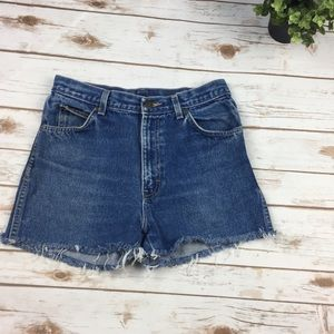 Vintage 90s Calvin Klein cut off shorts